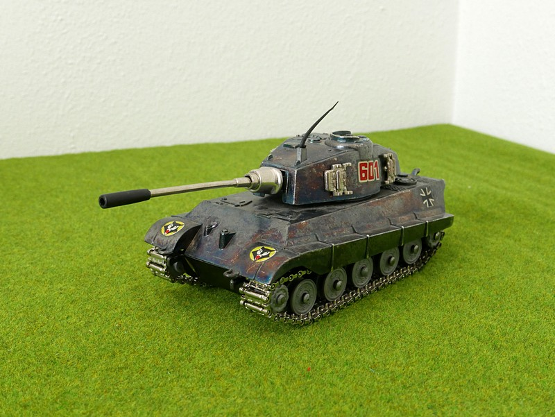 Playme 601 Tiger II left front view