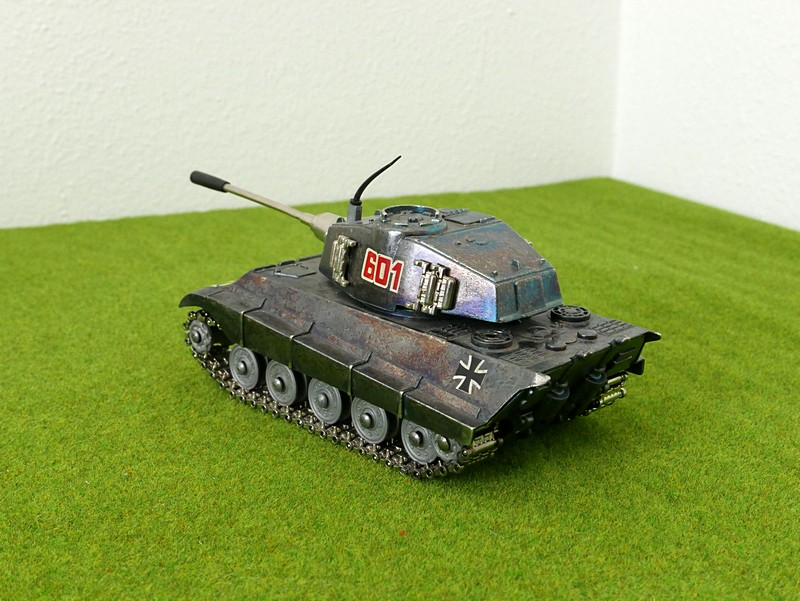 Playme 601 Tiger II left rear view