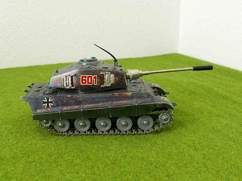 Playme 601 Tiger II right side view
