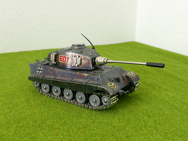 Playme 601 Tiger II right front view