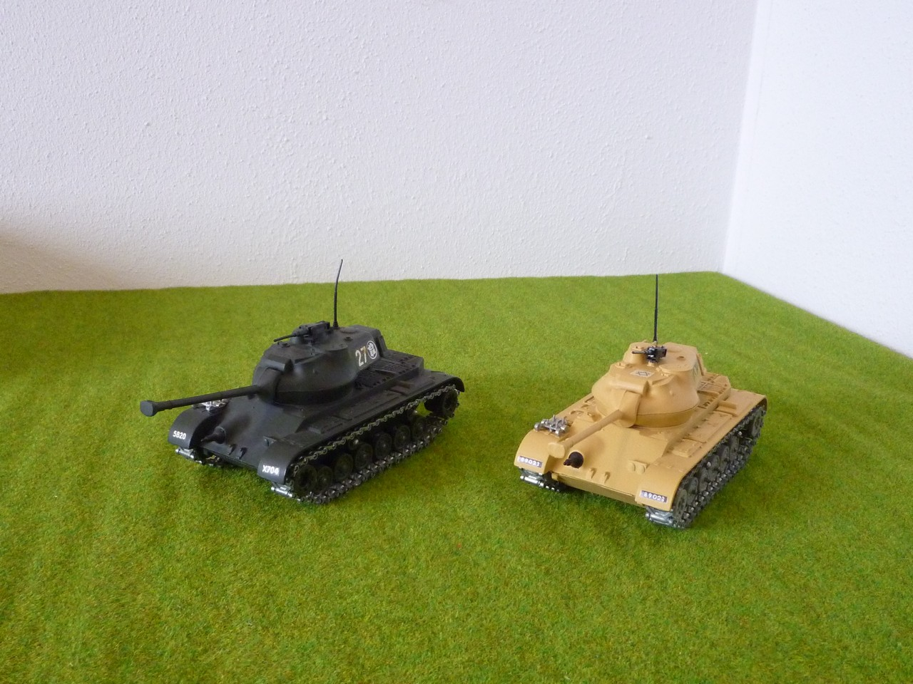 Solido M47 Patton left front view